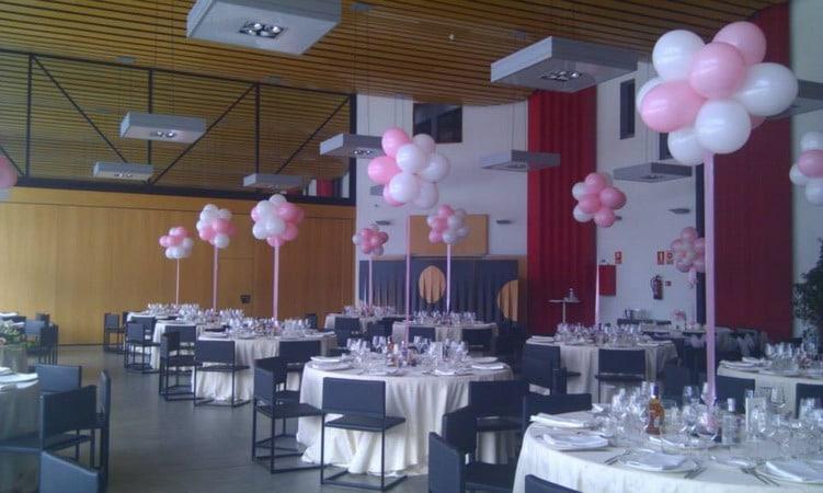 Decoraci n con globos para fiestas infantiles salones y for Decoracion con globos para cumpleanos