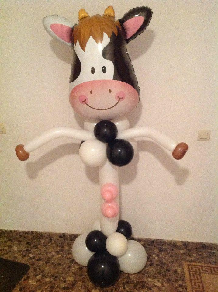 Globoflexia figuras con globos animaciones infantiles - Decoracion de cocina con vacas ...